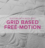 Christina Cameli Grid Based Free-Motion Quilting, Saturday, July 15, 2-5 pm