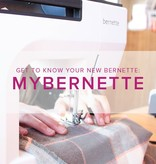 Modern Domestic CLASS FULL MyBernette: Machine Owner Class, Saturday, August 26, 11am - 1 pm