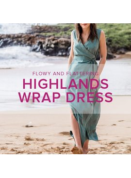 Erica Horton Highlands Wrap Dress, Wednesdays, August 30, Sept 6, and 13, 6-9 pm