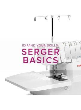 Modern Domestic BERNINA Serger Basic, Saturday, August 19, 2-4 pm