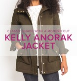 Erica Horton CLASS FULL Kelly Anorak, Thursdays, October 19, 26, November 2, 9, 16, 6-9 pm