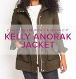 Erica Horton Kelly Anorak, Thursdays, October 19, 26, November 2, 9, 16, 6-9 pm