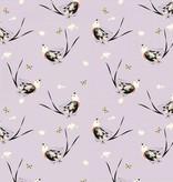 Birch Fabrics Charlie Harper's Western Birds Scissortailed Fly Catcher