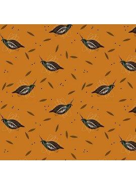 Birch Fabrics Charlie Harper's Western Birds Mountain Quail