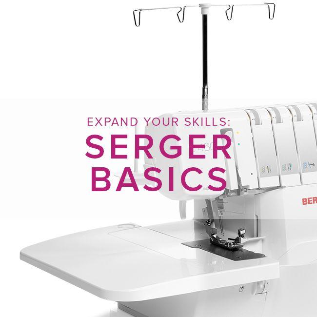 Modern Domestic BERNINA Serger Basic, Sunday, September 17, 2-4:30 pm