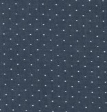 Robert Kaufman Cotton Chambray Dots Indigo