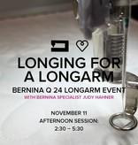 Modern Domestic Longing for a Longarm, Saturday, November 11, 2:30 - 5:30 pm