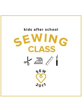 Kids' Sewing Class: Make a Skirt! Saturday, November 18, 2-5 pm