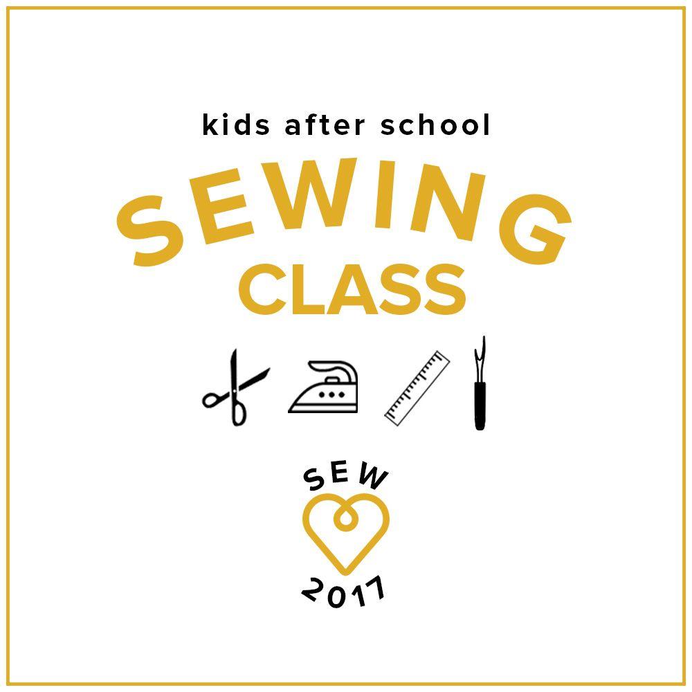 Kids' Sewing Class: Make a Skirt! Saturday, November 18, 2-5 pm