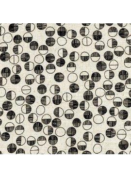 EE Schenck Tiny Scandinavia: Circles - Black on Natural