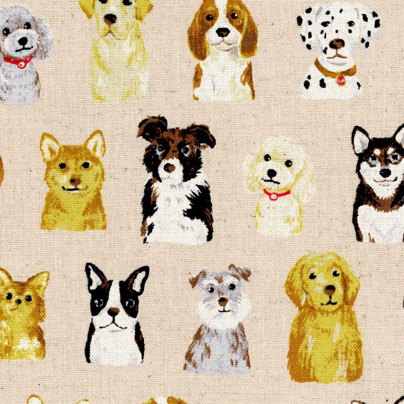 EE Schenck Animal World Cotton/Linen Canvas