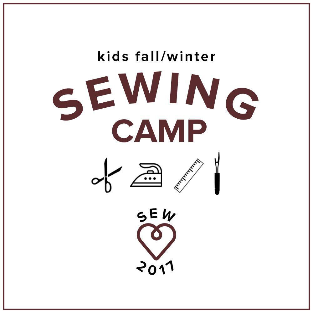 Karin Dejan CAMP FULL Kids' Sewing Winter Break Camp: Gift Making!, Monday-Thursday, December 18, 19, 20, 21, 10 am - 1 pm