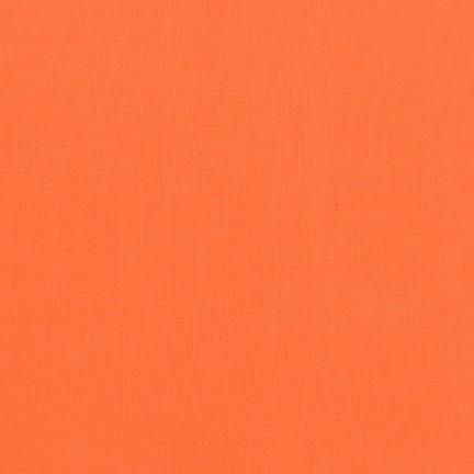 Robert Kaufman Kona Cotton Orangeade