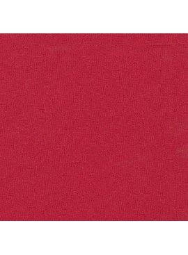 Robert Kaufman Essex Solid Crimson
