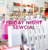 Modern Domestic Friday Night Sewcial: Friday, October 27, 5-8 pm