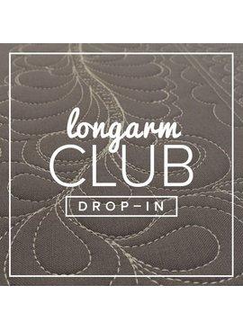 Modern Domestic Longarm Club Drop-in, MONDAY, November 20, 10:30-12:30 pm