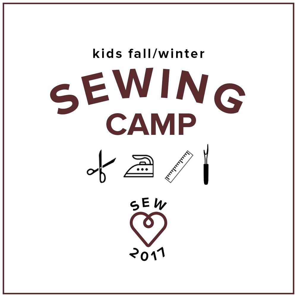 Kids' Sewing Winter Break Camp: PJs for Me and My Doll, Wednesday - Friday, December 27, 28, 29, 10 am - 1 pm
