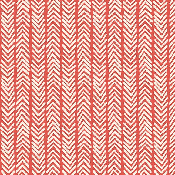 Monaluna Fabric Herringbone Organic Lawn