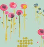 Monaluna Fabric Wanderlust by Monaluna, Poem, Organic Lawn Sage
