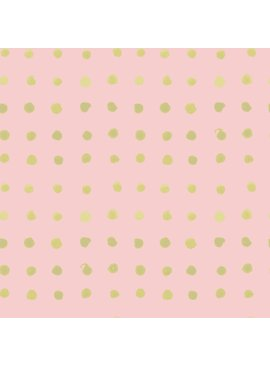 Monaluna Fabric Wanderlust by Monaluna, Spots, Organic Lawn