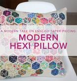 Modern Hexie Pillow, Sundays, December 3 and 10, 2-5 pm
