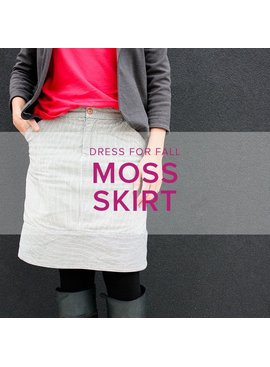 Erica Horton Moss Skirt, Thursdays, November 30, December 7, and 14, 6-8:30 pm