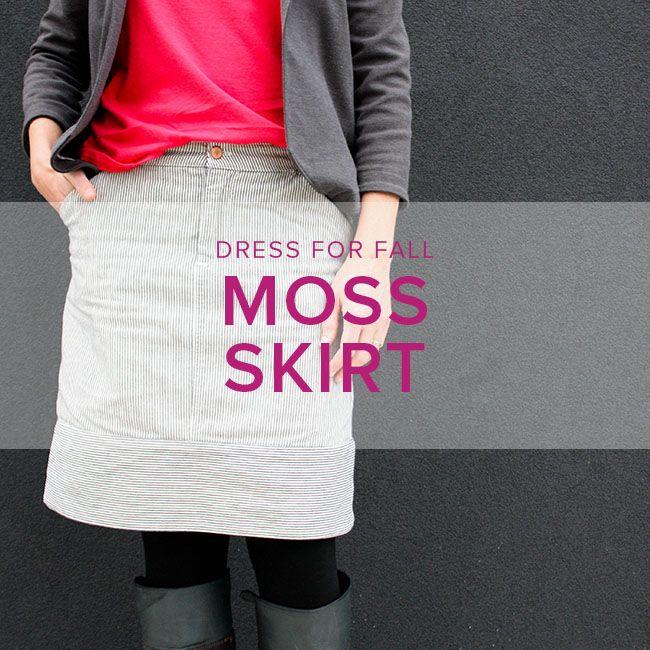 Erica Horton CLASS IN SESSION Moss Skirt, Thursdays, November 30, December 7, and 14, 6-8:30 pm