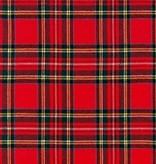 Robert Kaufman Highlander Flannel Crimson