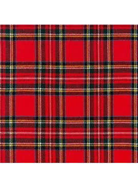 Robert Kaufman Highlander Flannel Crimson