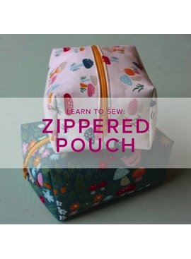 Erica Horton CLASS FULL Learn to Sew: Boxed Zip Pouch, Tuesday, November 21, 6-9 pm