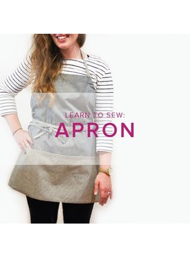 Karin Dejan Learn to Sew: Apron, Monday, November 20, 6-9 pm