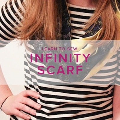 Karin Dejan Learn to Sew: Infinity Scarf, Monday, December 11, 6-9 pm