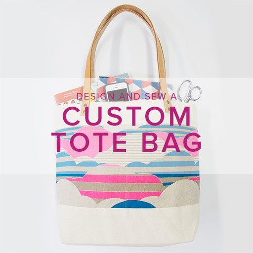 Design and Sew a Custom Tote Bag with Ellie Lum, Saturday, December 9, 10 am - 5:00 pm