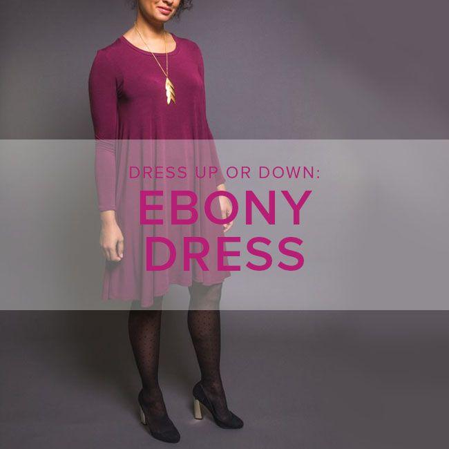 Karin Dejan Ebony Dress, Wednesdays, November 7 and 14, 6-9 pm