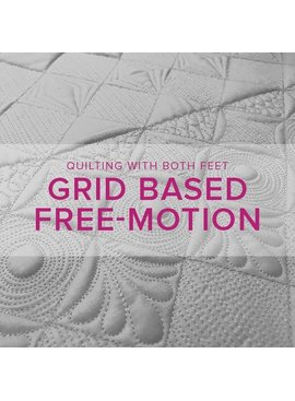 Christina Cameli CLASS FULL Grid Based Free-Motion Quilting with Christina Cameli, Sunday, November 26, 10-1 pm