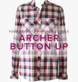 Erica Horton Archer Button-Up Shirt, Thursdays, January 4, 11, and 18, 6-9 pm