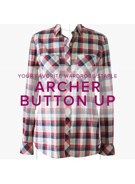 Erica Horton CLASS IN SESSION Archer Button-Up Shirt, Thursdays, January 4, 11, and 18, 6-9 pm