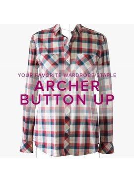 Erica Horton ONE SPOT LEFT Archer Button-Up Shirt, Thursdays, January 4, 11, and 18, 6-9 pm