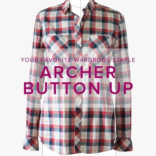 Erica Horton CLASS FULL Archer Button-Up Shirt, Thursdays, January 4, 11, and 18, 6-9 pm