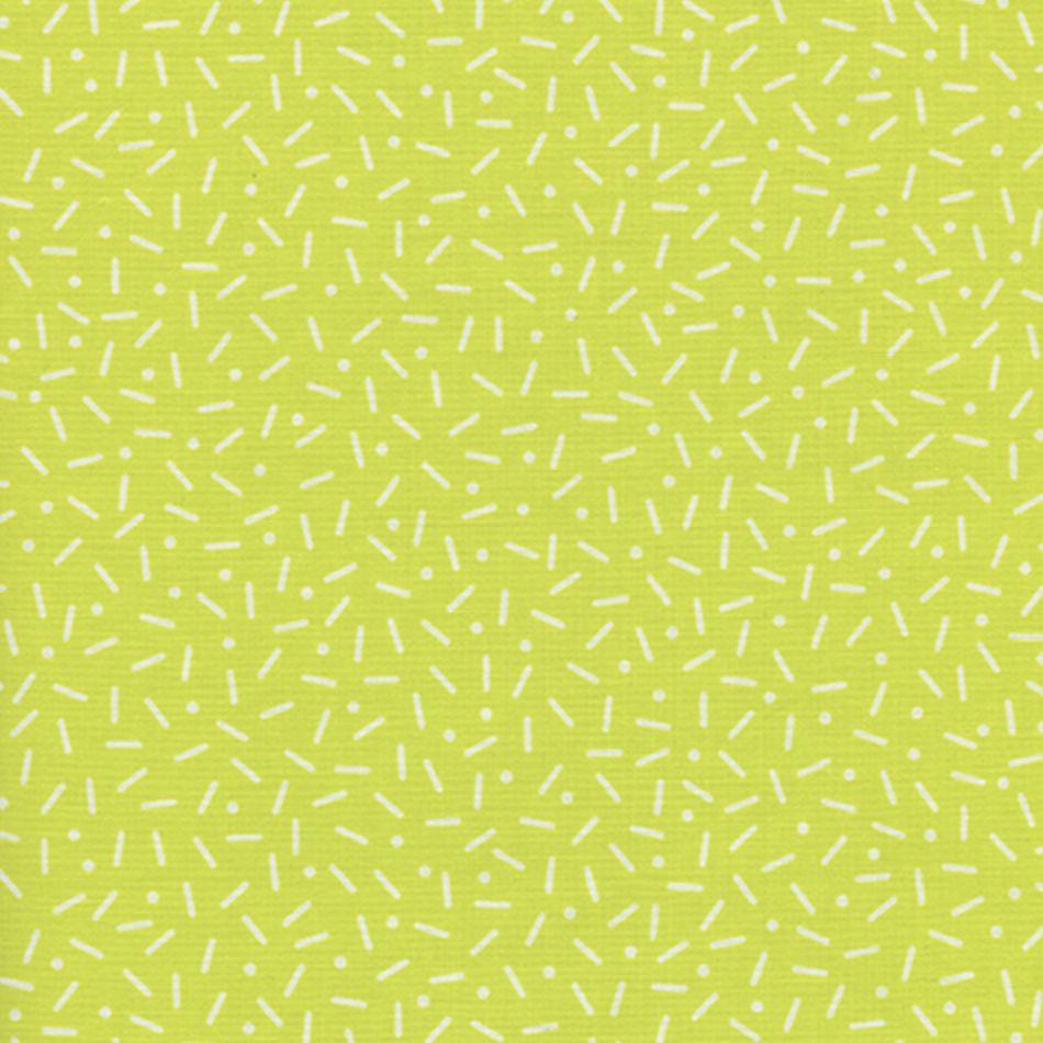 Cotton + Steel Snap To Grid by Kim Kight: Little Pill Dot Lemon