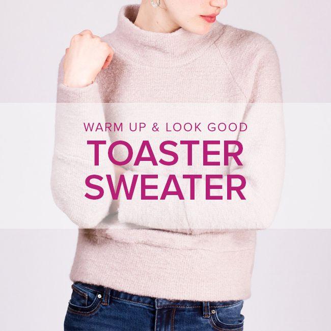 Erica Horton CLASS FULL Toaster Sweater,  Saturdays, January 6 and 13, 3-6 pm