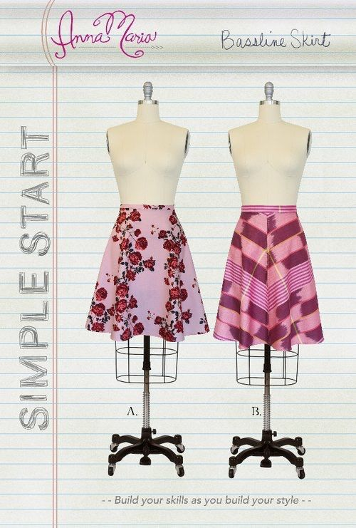 Moda Simple Start by Anna Maria Bassline Skirt