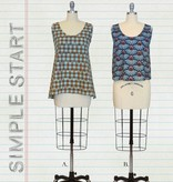 Moda Simple Start by Anna Maria Popover Tank