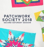 Modern Domestic Modern Domestic Patchwork Society Annual Membership, 2018, Second Saturday monthly, 10:00 - 12:30