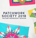 Modern Domestic Modern Domestic Patchwork Society Annual Membership, 2018, (Mostly) Second Wednesday monthly, 10:00 - 12:30