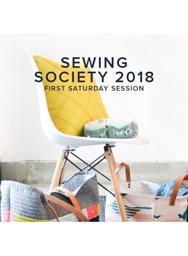 Modern Domestic Modern Domestic Sewing Society Annual Membership, 2018, First Saturday monthly, 10 am -12:30 pm