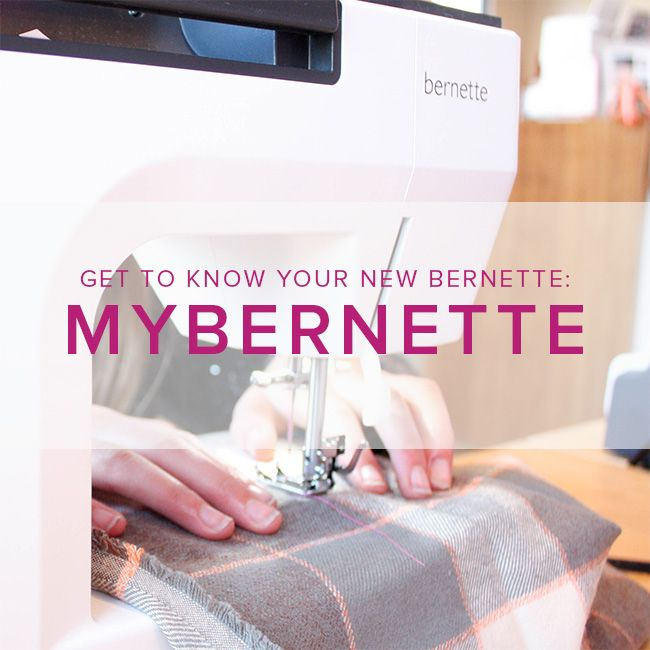 Modern Domestic MyBernette: Machine Owner Class, Saturday, January 27, 2-4 pm
