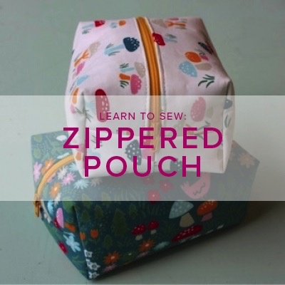 Erica Horton Learn to Sew: Boxed Zipper Pouch, Tuesday, February 6, 6-9 pm
