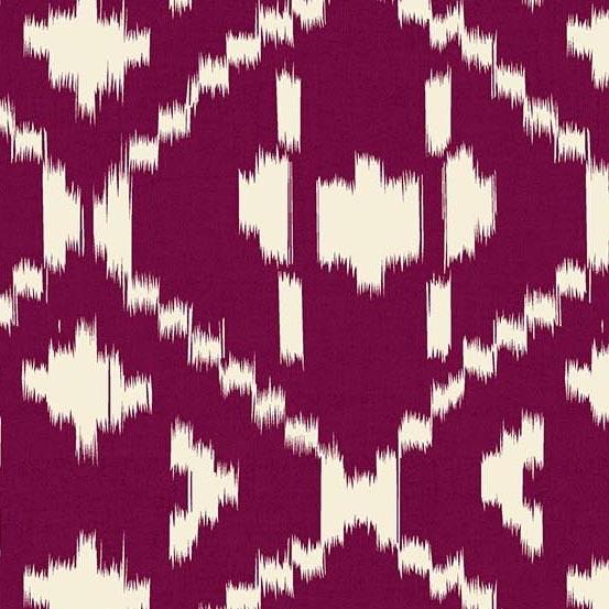 Andover Technicolor - Dream Weaves Plum Diamond