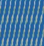 Andover Technicolor - Dream Weaves Blue Diagonal